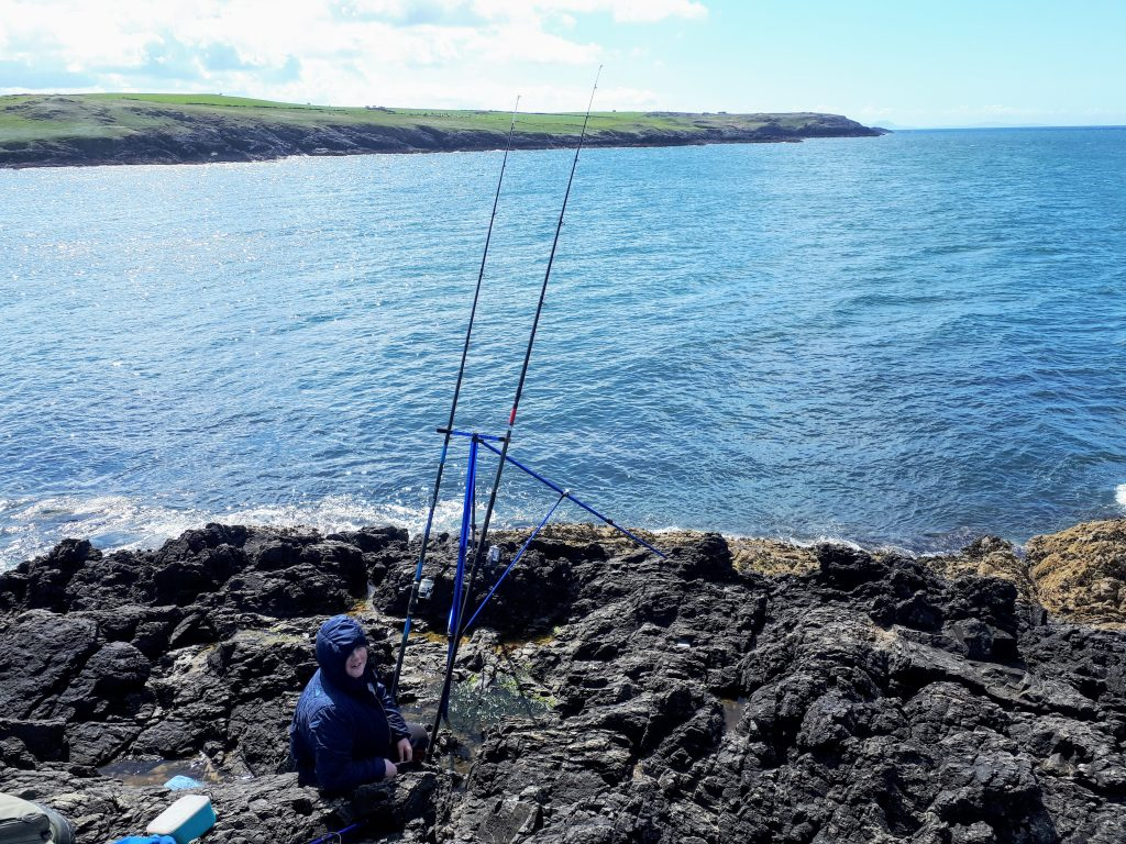 it shows my fishing at Cable Bay